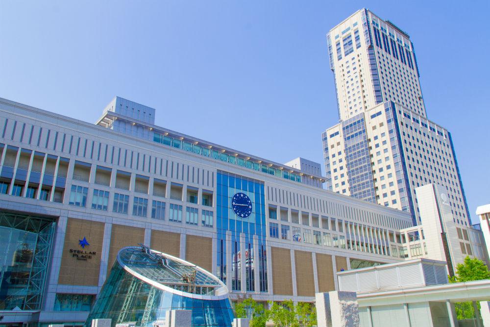 札幌駅の風景